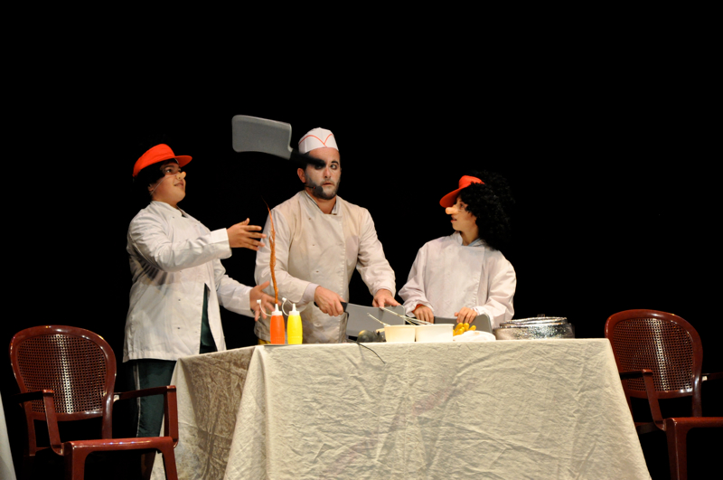 The Pocket Oxford Theatre Company – Festivals – Macbeth – Kitchen